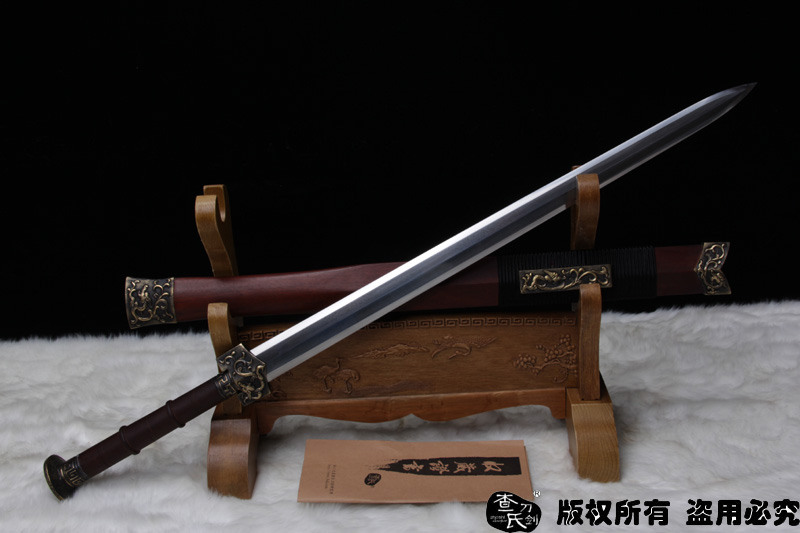 八面汉剑和唐刀囹�a_龙风剑-八面汉剑