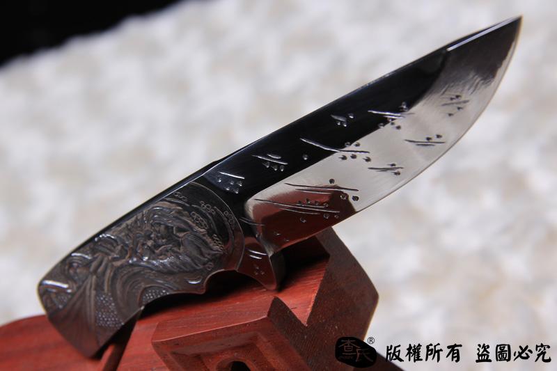 手工雕刻小件-手工孤品-风雷神