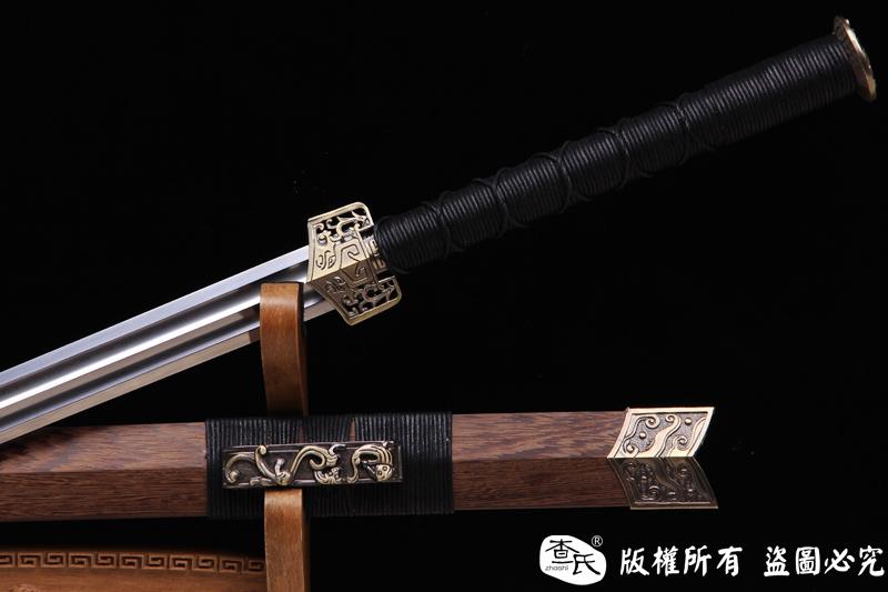 游侠-花纹钢双槽汉剑-性能不错