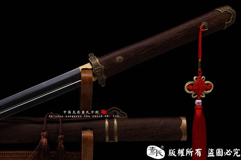 铜装百炼钢唐刀(经典诸刃开槽版)