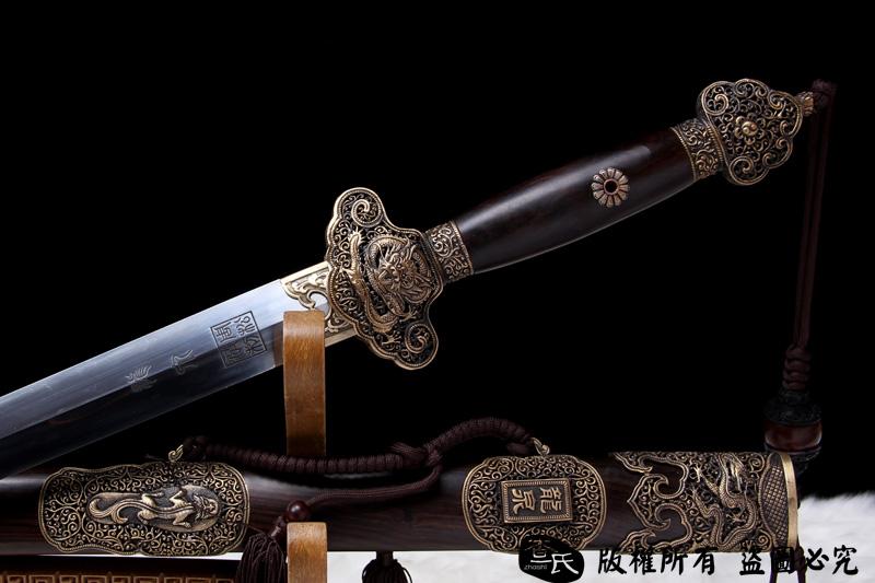龙泉-清时期的手工剑代表作