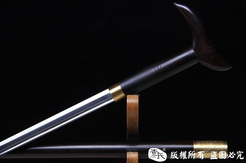 精品手杖剑-拐杖剑-防身收藏两用