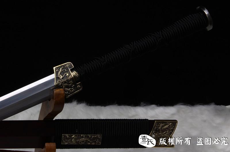 紫檀毛铁八面汉剑 -精品
