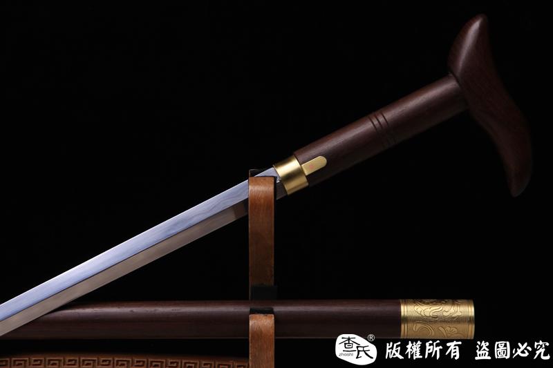 万福-精品实用,收藏,送人 手杖剑,拐杖剑