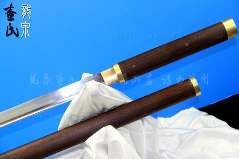 素装包铜唐刀