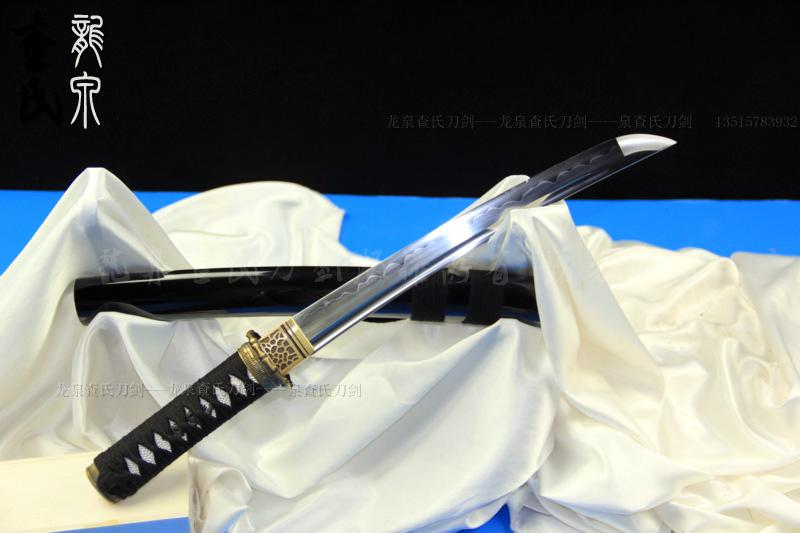 竹之刀-全钢烧刃