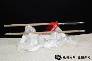 手工经典凹槽红樱枪-花纹钢