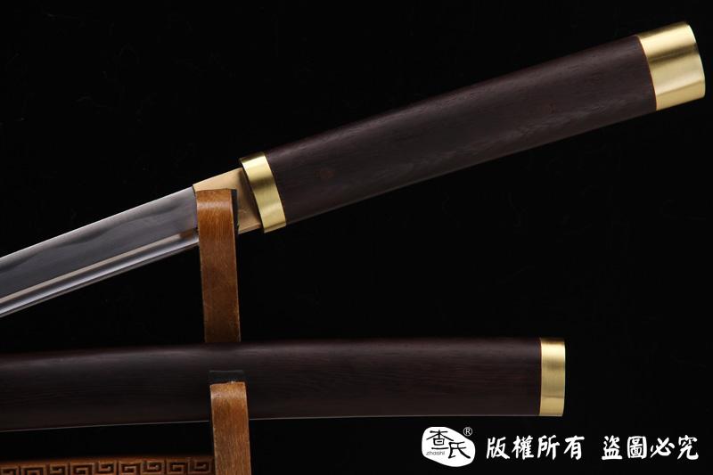 素装武士刀