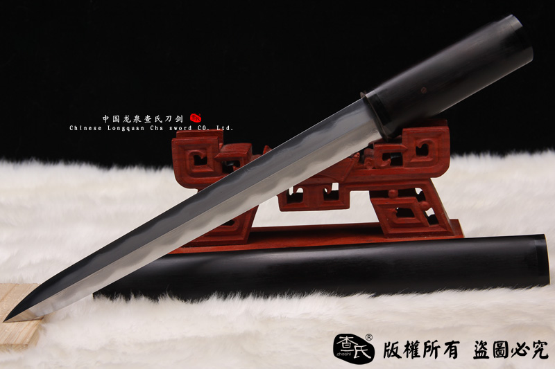 黑檀木短剑-精品手工-中国研