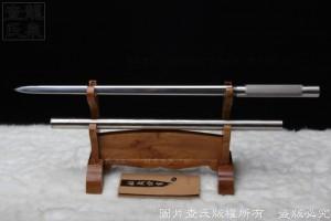 花纹钢八面棍剑-精品防身镇宅剑-车族最爱-实用 收藏