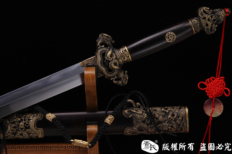 精细龙图剑-百炼钢烧刃