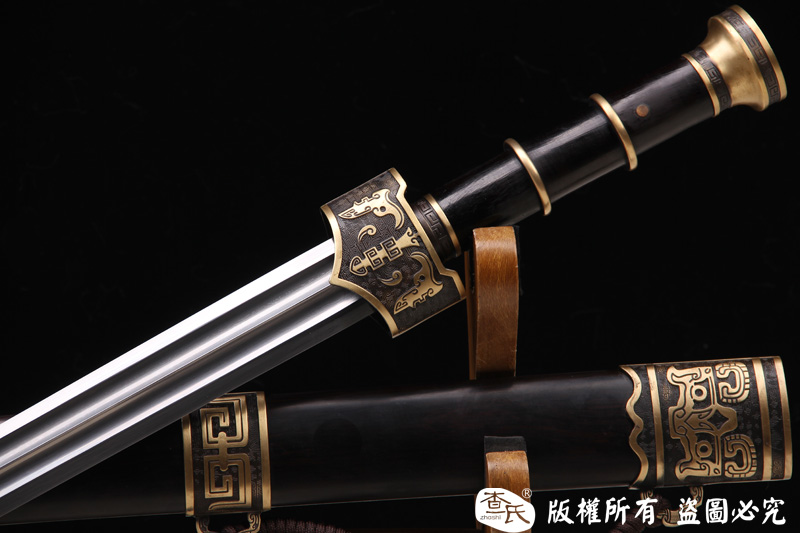 断云剑-铜装经典秦汉风-可以砍铁-永久收藏-实惠推荐