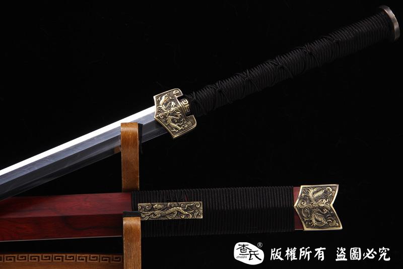 紫檀行云剑-八面剑