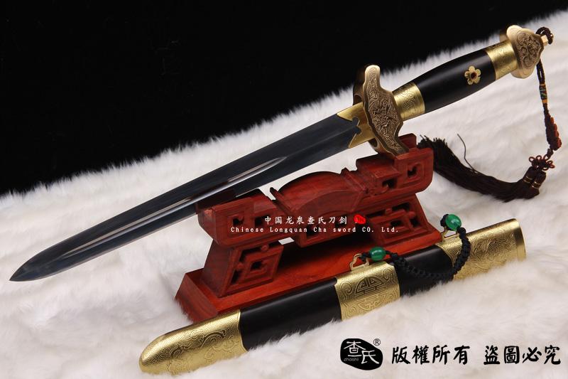 精致包铜剑-龙泉本色款式
