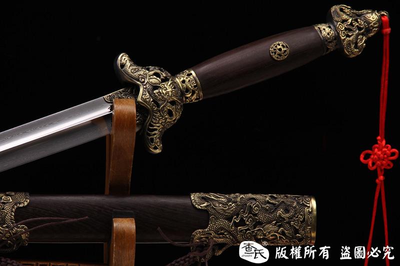 龙装精品武术剑-高档太极剑-软剑