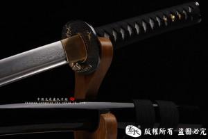 寒梅-花纹钢武士刀-2014特价