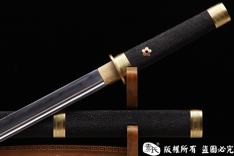 珍珠鱼皮唐战刀