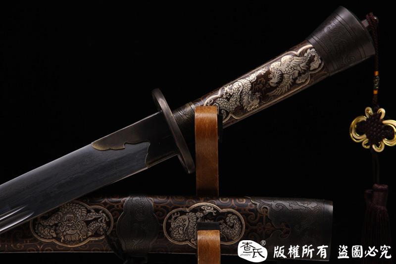 精品铜鞘清腰刀