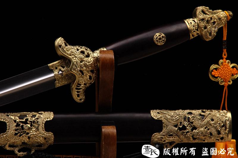 精品镂空装武术软剑-太极剑