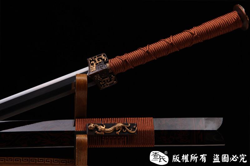 古漆艺八面汉剑