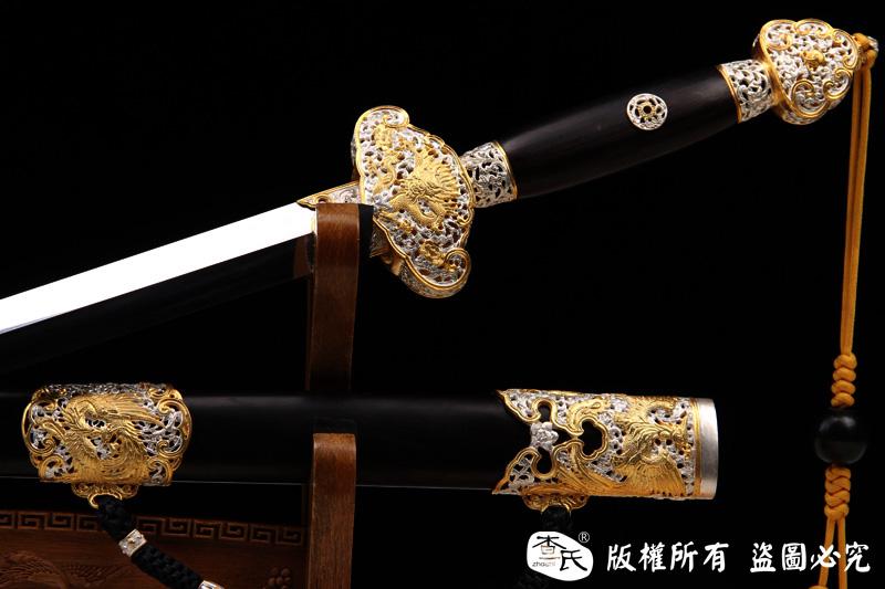 精工龙之剑-手工百炼加镀金镀银-值得珍藏