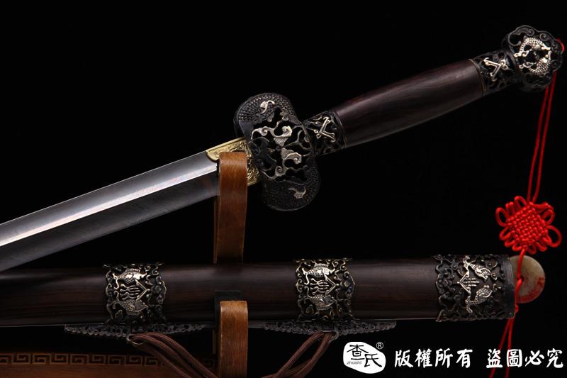 羽毛钢永乐剑--精品软剑