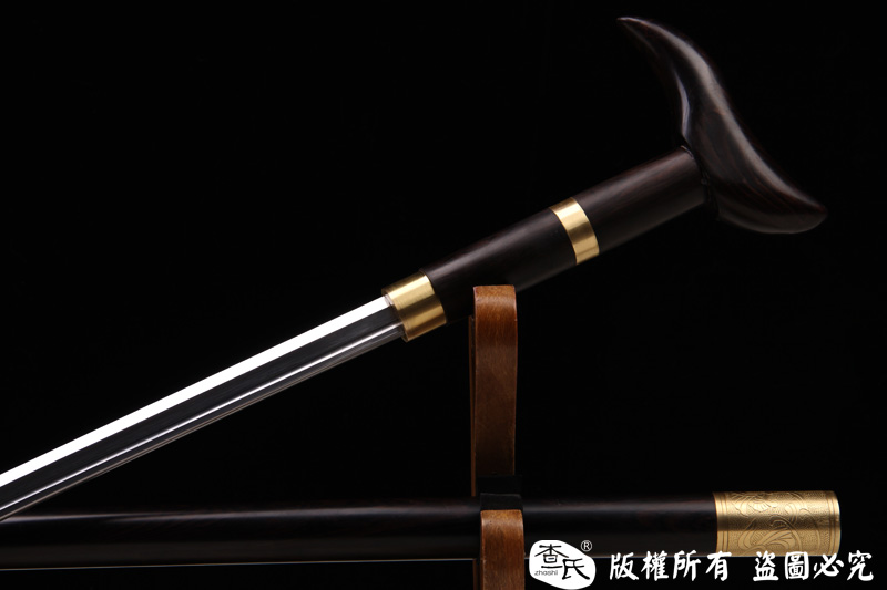 唐刀形手杖剑-拐杖剑