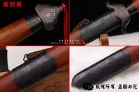 螳螂手工剑-高端武术长剑-双手剑-百炼钢版