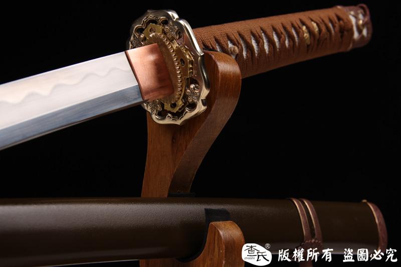 98军刀(铁鞘,地肌钢烧刃)