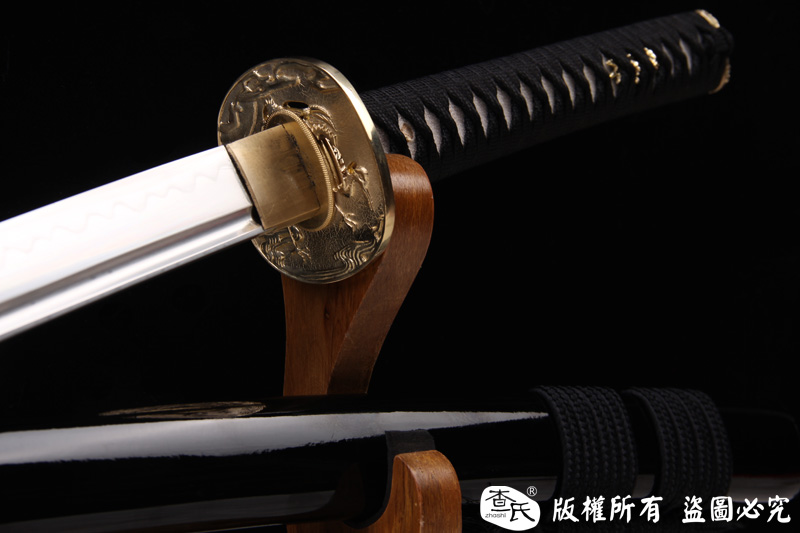 铜装26寸烧刃武士刀-特惠