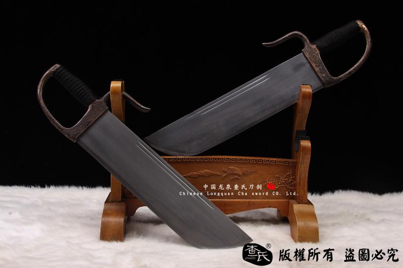 咏春刀-蝴蝶刀-叶问用刀-八斩刀