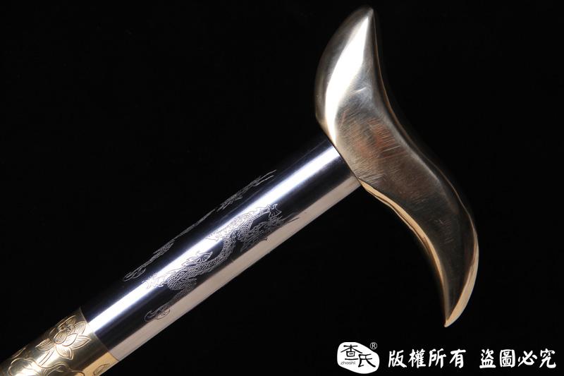 上等防身拐杖-防身手杖-高强度精细手工制作,实用兼收藏