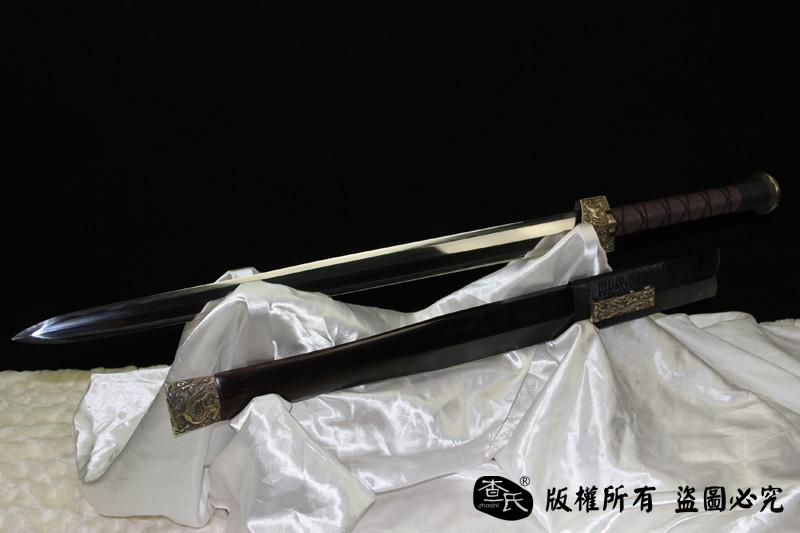 汉战圣剑-高端收藏兼实战剑-砍铁削纸