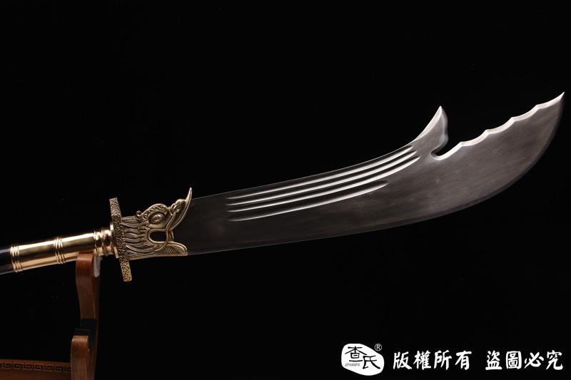青龙偃月刀-关羽用刀-关公刀-27斤左右