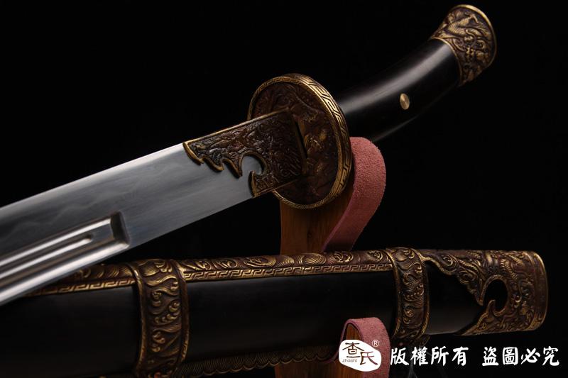 康熙佩刀-经典清刀