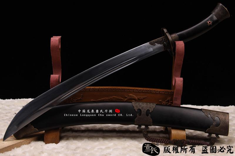 黑檀清官刀