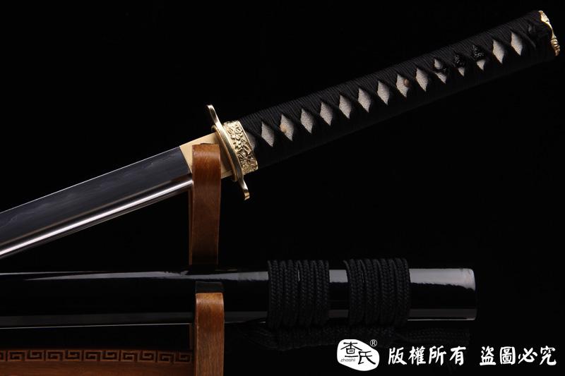 一文字-百炼钢烧刃直刀
