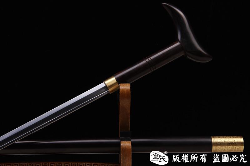 羽毛钢精品级手杖剑