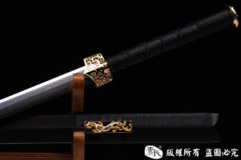 镀金装汉剑