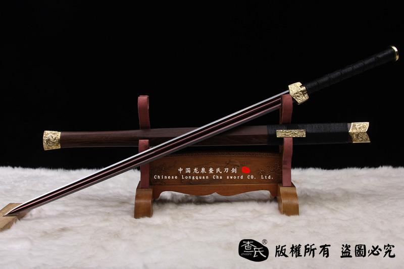 真武剑- 特价推荐-铜装八面凹槽汉剑