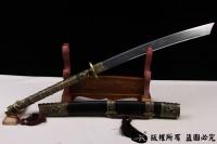 清代战刀-相传康熙御用刀-可以砍铁