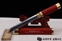 高性价比包铜短唐刀-性能做工不错-可以砍铁丝