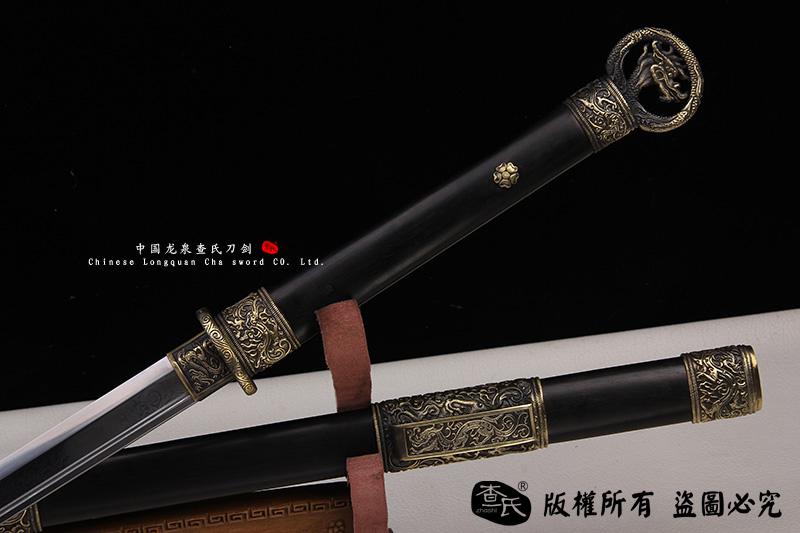 龙牙-檀木环首刀