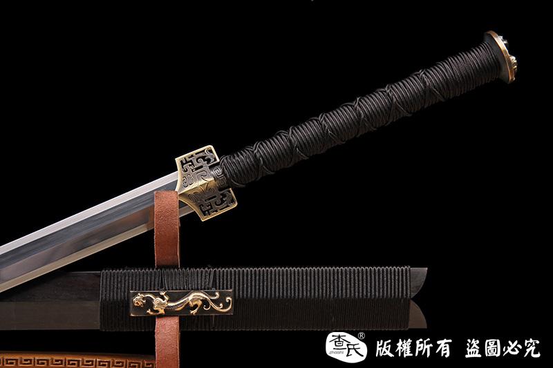 羽毛钢经典八面汉剑-值得收藏的经典