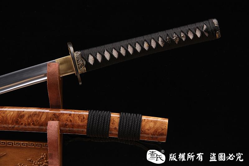 铜装烧刃武士刀-特惠款