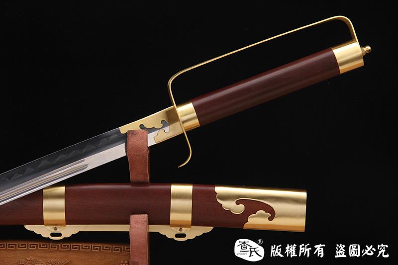 实战清刀-传统手工包铜