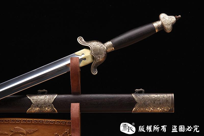 梅花不锈钢太极剑
