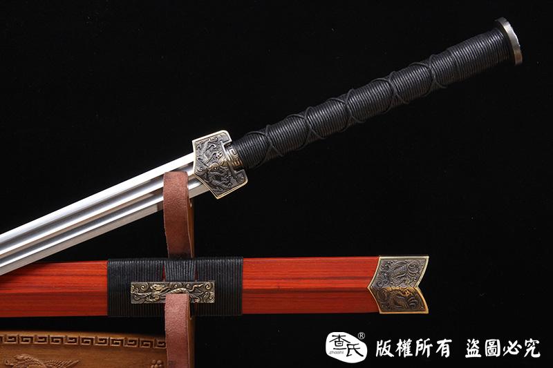经典复古版四圣汉剑(青龙,白虎,朱雀,玄武)