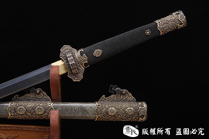 珍珠鱼皮经典唐大刀
