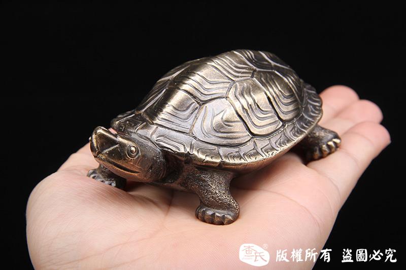 黄铜吉祥龟-实心打造